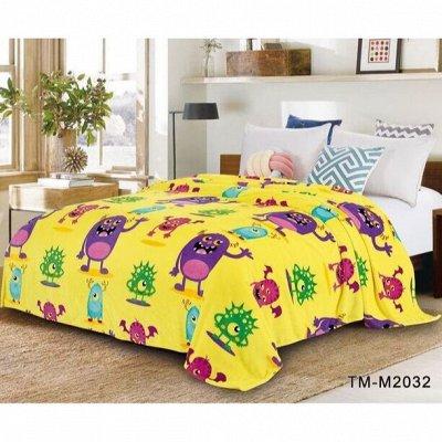 Шикарная спальня у вас дома. КПБ в наличии — ПЛЕД ВЕЛСОФТ 1.5сп и деткам