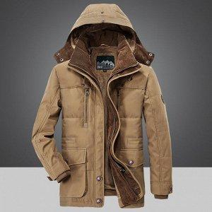 Куртка зимняя JEEP. Хлопок 100%