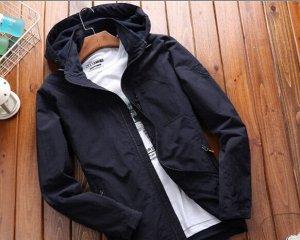 Куртка демисезонная Outdoor, флисовый подклад.