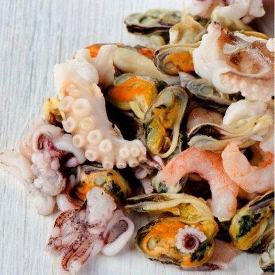 Филе Гребешка (средний размер) Нежнейший! ✔ SEAZAM — Салат чука, суповые наборы, морской коктейль, головы
