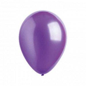 """Шар латексный 5"""", металлик, водяные бомбочки, набор 10 шт., цвет фиолетовый"""