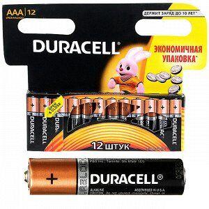 Батарейка щелочная AAA LR03 1,5 V Мизинчиковая