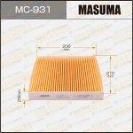 Фильтр салонный Masuma