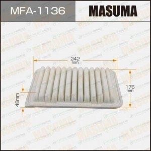 Фильтр воздушный Masuma A-1013, арт. MFA-1136