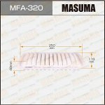 Фильтр воздушный Masuma A-197, арт. MFA-320