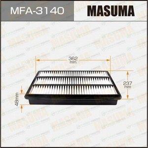 Фильтр воздушный Masuma A-3017, арт. MFA-3140