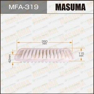 Фильтр воздушный Masuma A-196, арт. MFA-319