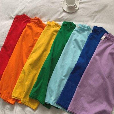 Базовые Футболки OverSize🌈 Все Цвета Радуги за 299 руб — Базовые футболки oversize, все цвета радуги