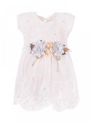 Платье для девочки с многослойной юбкой Турция