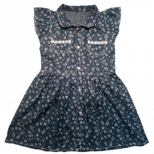 """Платье с рукавчиками """"крылышками"""" для девочки"""