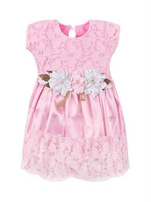 Платья для девочек с косой из цветов