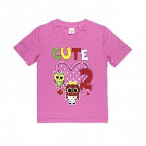 "Футболка для девочки ""Cute 2"""