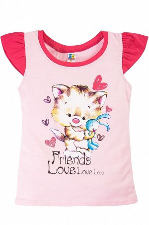 "Футболка для девочки ""Friends Love"""