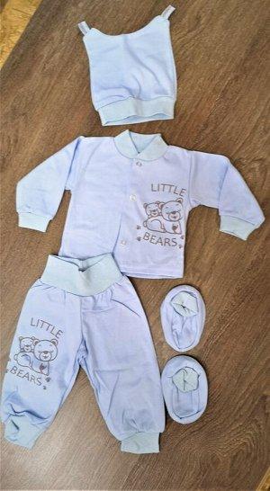 Комплект из 3 предметов для новорожденного