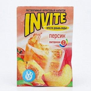 Растворимый напиток Invite персик, 9 г