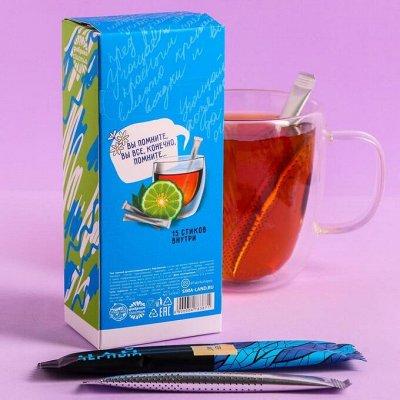 Ингредиенты для выпечки — Чай в стиках