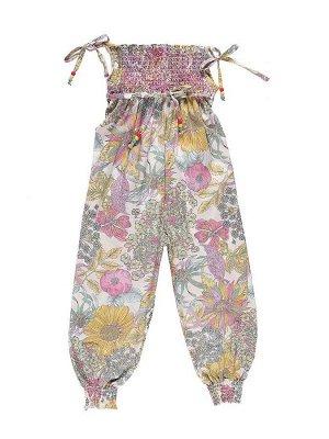 Комбинезон текстильный для девочки