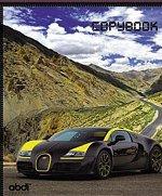 Тетрадь общая 36 листов КЛЕТКА «Автомобили»