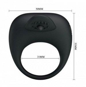 Кольцо эрекционное с вибрацией STIMULATING TONGUO