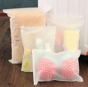 Пакет зип-лок для хранения вещей, 17*25 см