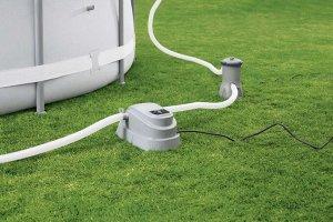 Проточный водонагреватель 2,8 kw для бассейнов до 17 м3