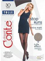 Tulle колготки (Conte) матовые колготки, однородные с эффектом тюля
