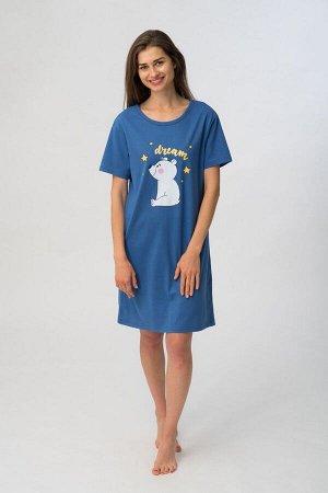 81329 Платье жен. WP 607, Состав: 100%хлопок