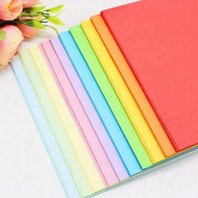 TUKZAR: Собираемся в школу/канцелярия от производителя — Цветная бумага/картон