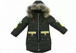 Пальто д зима OS-1825 140-164/5