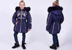 Пальто дев. зима 1627 110-134/5