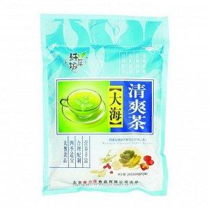 Китайский элитный чай Gutenberg Ба Бао Ча (Восемь сокровищ синий) с паньдаха. 12* 20 г