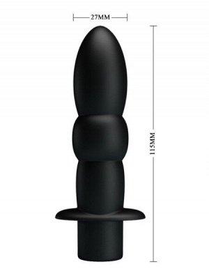 Вибромассажёр WYATT 10 режимов вибрации, L 115 мм D 27 мм