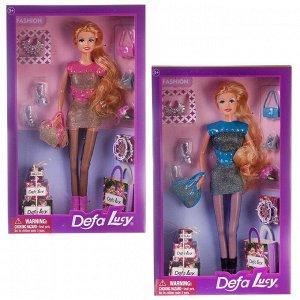Кукла Defa Lucy Модная девушка 29см 2 вида в наборе с аксессуарами48