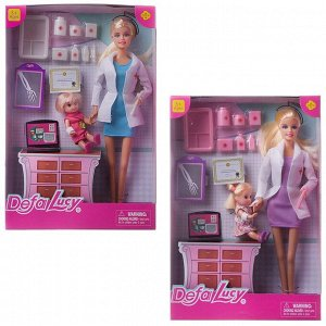 Кукла Defa Lucy На приеме у доктора, 2 вида в коллекции143