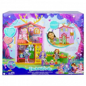 Игровой набор Mattel Enchantimals Домик Данессы Оленни ( обновленная версия)4