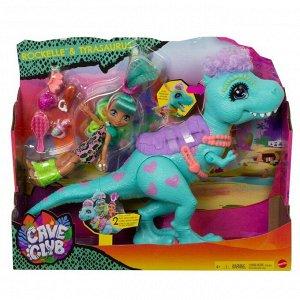 Игровой набор Mattel Cave Club Рокель и Ти-Рекс6