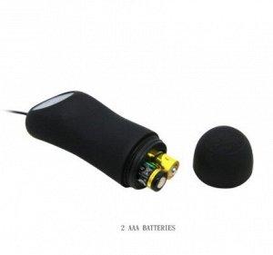 ВИБРОМАССАЖЁР (ВТУЛКА АНАЛЬНАЯ) L 117 мм D 28 мм, 12 режимов вибрации