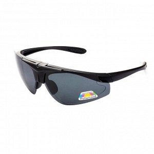 Очки поляризационные в чехле (серый) PREMIER (PR-OP-112-G)