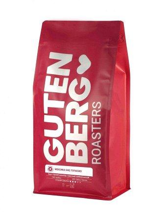 Кофе в зернах Gutenberg Мексика SHG Топасио 1 кг.