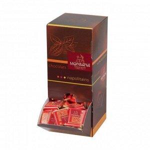 """Шоколад горький """"Зерна какао"""" в диспенсере (200 плиточек по 4 грамма)"""