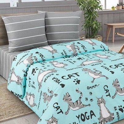 Текстиль для дома, много новинок — Постельное белье. 2.0 спальный с европростыней Комплекты по
