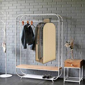 Чехол-кофр для одежды до 15 вешалок, 120*60*35 (шубы, платья, костюмы)