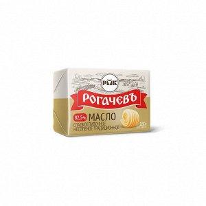 Масло 82,5% Сливочное традиционное 160гр Рогачев