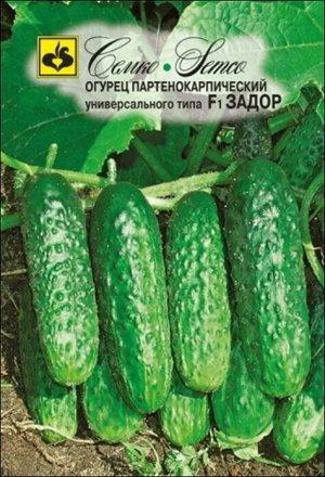 ТМ Семко Огурец партенокарпический Задор F1/ гибриды с длиной плодов 12-24 см