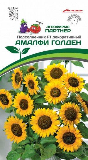 Семена Подсолнечник декоративный АМАЛФИ ГОЛДЕН F1 ^(10шт)