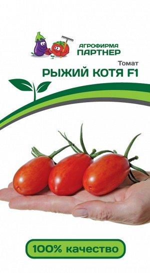 ТМ Партнер Томат Рыжий Котя F1 ( 2-ной пак.)/ Гибриды томата с желто-оранжевыми плодами