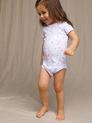 Боди детское трикотажное для девочек, 3шт в комплекте