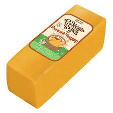 Сыр Чеддер рыжий 45% ТМ Радость Вкуса (Семикаракорский СЗ)
