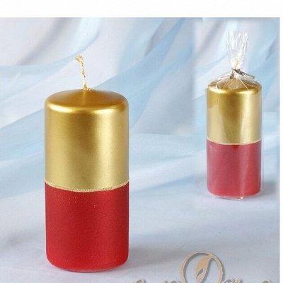 Праздник на ура- 21-1. Шары, посуда, свечи — Геометрические декоративные свечи