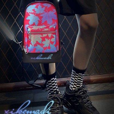 ৡБрендовые рюкзаки XikeMadi со светоотражающим эффектомৡ